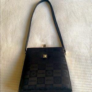 Vintage Versace gorgeous satin bag